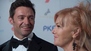 Hugh Jackman und Deborra-Lee Furness 2015 bei einer Veranstaltung in Melbourne