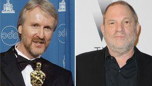 Mit Oscar-Award: James Cameron wollte Weinstein schlagen!