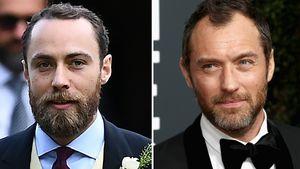 Wie Zwillinge: Sieht Herzogin Kates Bruder aus wie Jude Law?