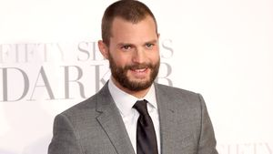"Jamie Dornan bei der Premiere von ""Fifty Shades of Grey 2"" in London"