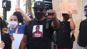 Jamie Foxx protestiert lautstark gegen Rassismus in L.A.!