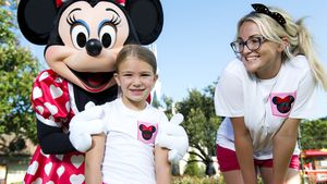 Jamie Lynn Spears und Tochter Maddie in der Disney World Florida