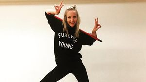 Janin Ullmann beim Tanztraining