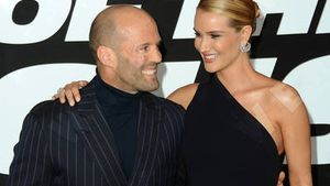"Jason Statham und Rosie Huntington-Whiteley bei ""Fast & Furious 8"" in New York"