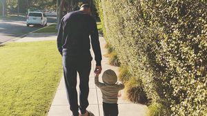 Zum 1. Vatertag: Erstes Foto von Jason Statham mit Sohn Jack