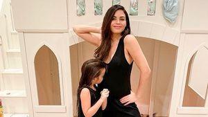 Große Schwester: Tochter Everly küsst Jenna Dewans Babybauch