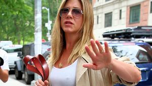 Jennifer Aniston als Paprazzi-Opfer in New York City