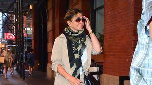 Beim Lunch-Date mit Justin: Jennifer Aniston versteckt Bauch
