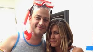 So sexy gratuliert Jen Aniston Jimmy Kimmel zum Geburtstag