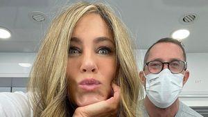 Frisur-Makeover: Jennifer Aniston präsentiert blonde Mähne