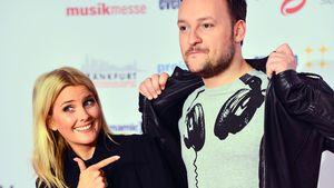 "Jennifer Knäble und Felix Moese auf dem ""Live Entertainment Award 2016"""