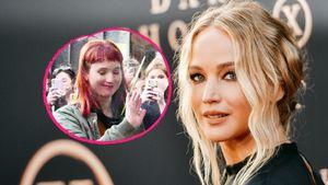 Erkannt? Jennifer Lawrence rockt rothaarige Fransen-Frise