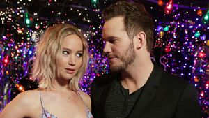 "Jennifer Lawrence und Chris Pratt beim ""Passengers""-Photocall in LA"