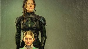 Hunger Games, Jennifer Lawrence und Willow Shields