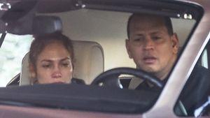 Streiten Jennifer Lopez und Alex hier wegen fremder Frau?