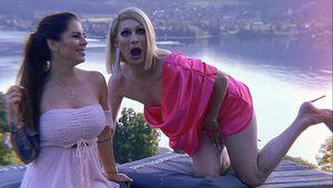 Kleid war zu kurz: Penis von Drag-Star Candy wollte winken!