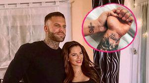 Jenny Frankhauser und ihr Steffen haben jetzt Liebes-Tattoos