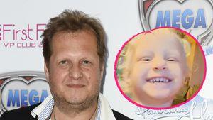 Tapfer: Jens Büchners kleine Tochter kann wieder lachen