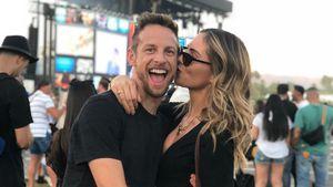 Baby-Foto: Rennstar Jenson Button und Brittny sind Eltern!