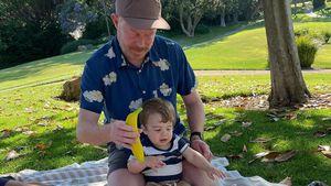 """Süß! """"Modern Family""""-Star Jesse zeigt Gesicht seines Sohnes"""