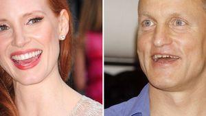 Jessica Chastain und Woody Harrelson