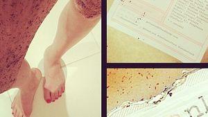 Huch! Jessie J hat Kaffee an den Beinen