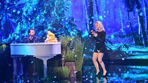 """Pretty in Plüsch"": Jimi Blue sang mit Jeanette Biedermann!"