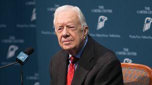 Ex-US-Präsident Jimmy Carter: Wegen Kopf-OP im Krankenhaus