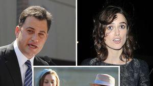 Keira Knightley, Jimmy Kimmel, Melissa Joan Hart und David Letterman