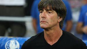 Joachim Löw beim EM-Halbfinale Deutschland vs. Frankreich