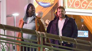 Schwangere Jodie Turner-Smith und Joshua bei relaxtem Date