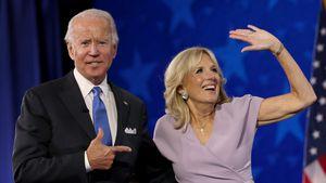 Wird sie First Lady? Das ist die Frau an Joe Bidens Seite