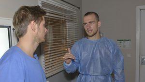 Nach GZSZ-Drama-Unfall: Chris eilt zu Felix ins Krankenhaus