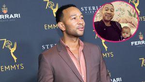 Zwillings-Alarm! John Legend posiert mit Söhnchen Miles
