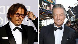Johnny Depp und Alec Baldwin packen über Scheidungen aus