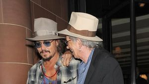 Johnny Depp: Männerabend mit Keith Richards