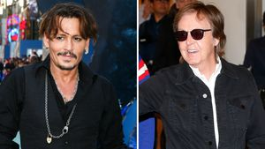 Johnny Depp und Paul McCartney