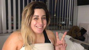 Vollständig! So happy ist YouTube-Star Jolina nach Brust-OP