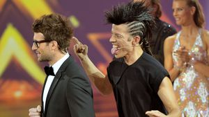 """Jorge Gonzalez und Daniel Hartwich bei dem Finale der Show """"Stepping Out"""""""