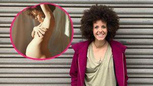 """Acht Wochen vor Geburt: """"Unter uns""""-Joy posiert ganz nackt"""