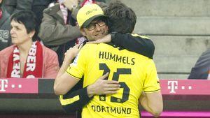 Mats Hummels und Jürgen Klopp