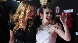 Emma Roberts macht Witze über Ähnlichkeit mit Tante Julia!