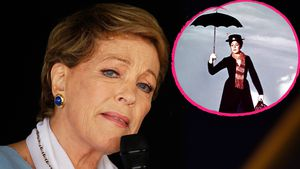 "Julie Andrews, ""Mary Poppins""-Star"