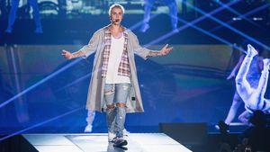 """Justin Bieber bei seiner """"Purpose World Tour"""""""