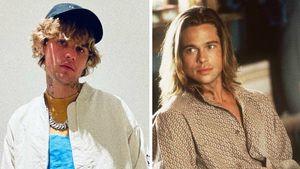 Justin Bieber will so lange Haare wie Brad Pitt in Kultfilm