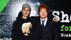 Justin Bieber und Ed Sheeran bei einer Veranstaltung in London 2015