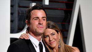 "Justin Theroux und Jennifer Aniston bei der ""Vanity Fair""-Oscar-Party 2017"
