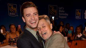 Justin Timberlake und Jonathan Demme beim Film Festival in Toronto 2016