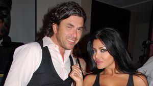 Kader Loth (rechts) und ihr Lebensgefährte Ismet Atli bei einer Party in Berlin 2009