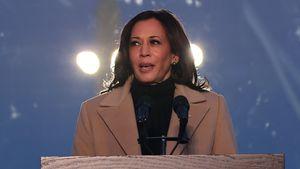So verbrachte Kamala Harris ersten Tag als Vizepräsidentin